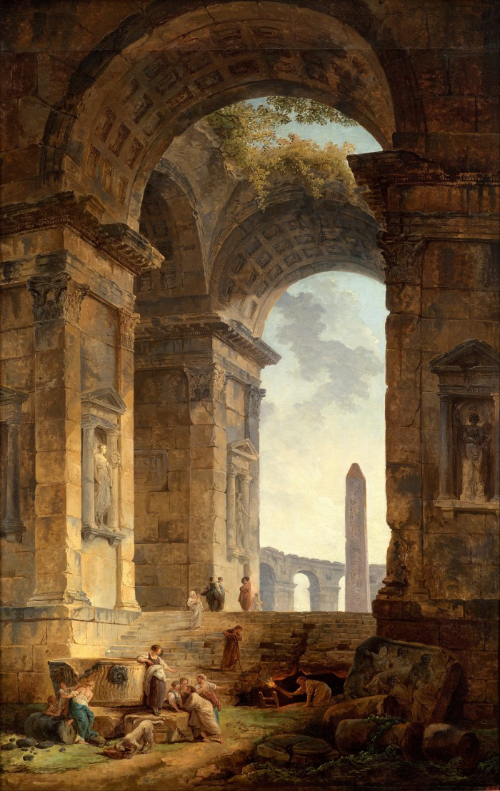 Hubert_Robert_-_Ruins_with_an_obelisk_in_the_distance_-_Google_Art_Project