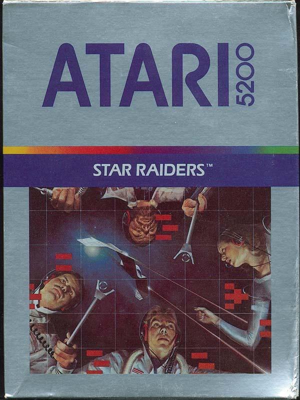 Star Raiders Box Scan (Front)